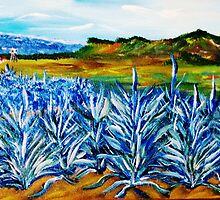 Blue Agave by WhiteDove Studio kj gordon