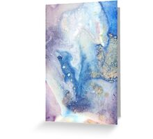 Moon Marble Greeting Card
