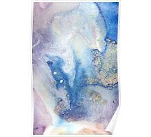 Moon Marble Poster