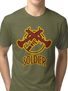 TF2 Soldier Tri-blend T-Shirt