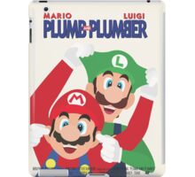 Plumb and Plumber iPad Case/Skin