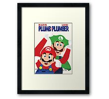 Plumb and Plumber Framed Print