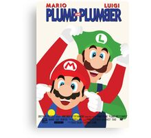 Plumb and Plumber Canvas Print