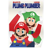 Plumb and Plumber Poster