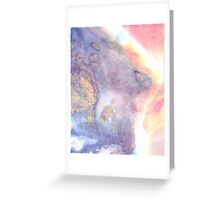 Marble Dream Greeting Card