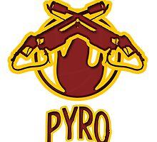 TF2 Pyro by BRPlatinum