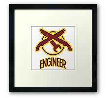TF2 Engineer Framed Print