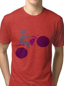 Motor Cross Tri-blend T-Shirt