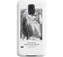 Charles Darwin Caricature 1873 Samsung Galaxy Case/Skin