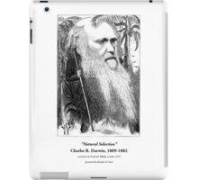 Charles Darwin Caricature 1873 iPad Case/Skin