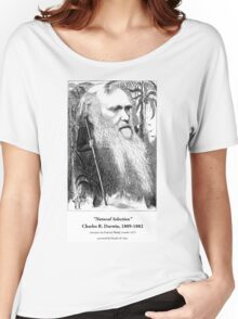 Charles Darwin Caricature 1873 Women's Relaxed Fit T-Shirt