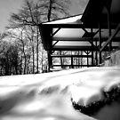 Snow pagoda by Jayca