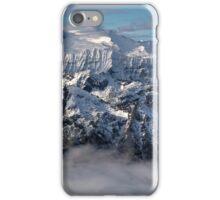 Peaks in the cloud iPhone Case/Skin
