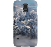 Peaks in the cloud Samsung Galaxy Case/Skin