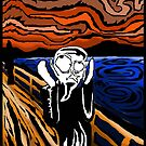 My Version of the Scream by depressedkat
