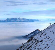 Islands in a see of clouds by PeterCseke