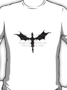 Alduin - The Elder Scrolls V: Skyrim (No Background) T-Shirt