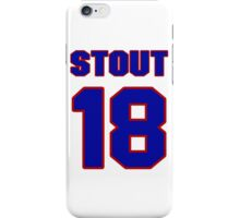 National baseball player Allyn Stout jersey 18 iPhone Case/Skin
