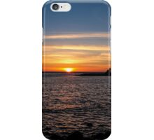 Sunset Over the Pacific Ocean iPhone Case/Skin