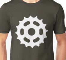 Large Sprocket White Unisex T-Shirt