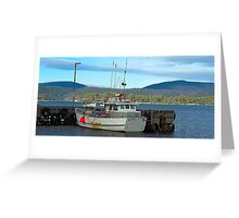 All Tied Up - Port Arthur, Tasmania, Australia Greeting Card