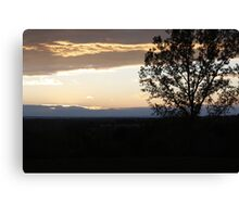 Calm Sunset Canvas Print