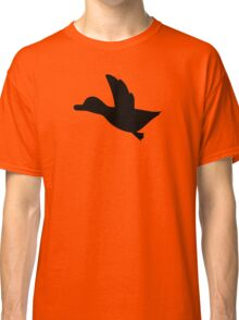 Duck Hunt Symbol - Super Smash Bros. (black) Classic T-Shirt