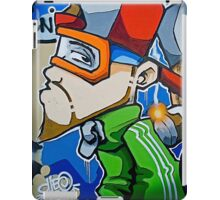 Street art by Cheo, 2009, Bristol iPad Case/Skin