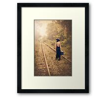 Engaged With Destiny Framed Print