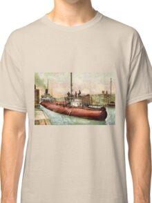 """Whaleback"" Poe Lock, Sault Ste. Marie, Michigan Classic T-Shirt"