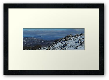 Snowy Mountain High - Mount Crackenback, NSW Australia by Philip Johnson