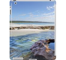 Flat Rock Creek, Hyams Beach Australia landscape seascape iPad Case/Skin
