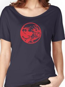 Earthbound Symbol - Super Smash Bros. (color) Women's Relaxed Fit T-Shirt