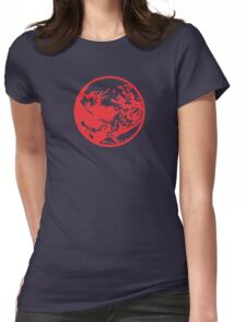 Earthbound Symbol - Super Smash Bros. (color) Womens Fitted T-Shirt