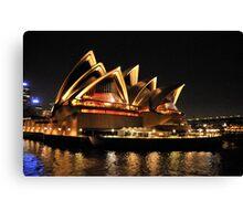 Lady Of Light - Sydney Opera House, Sydney Canvas Print