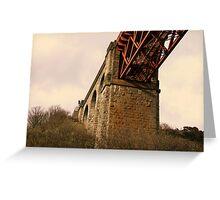 Forth Rail Bridge Structure Greeting Card