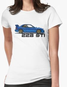 Subaru Impreza WRX 22B Sti Womens Fitted T-Shirt