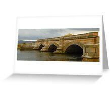 Ross Bridge  (Built 1836), Ross Tasmania Greeting Card