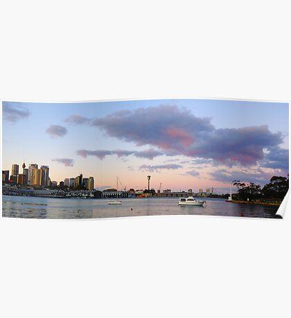 Good Mooring - Sydney Harbour, Sydney Australia Poster
