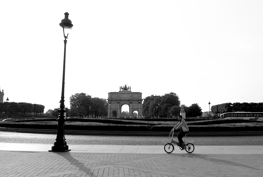 Bicycle - Paris by luxquarta
