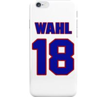 National baseball player Kermit Wahl jersey 18 iPhone Case/Skin