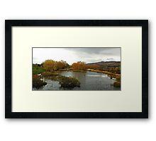A Tasmanian Autumn - Tasmania Australia Framed Print