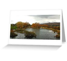 A Tasmanian Autumn - Tasmania Australia Greeting Card