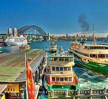 Sydney Harbour Ferry Terminal (Photo Finish) by Brian Farrell