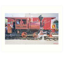 Sespe Train Art Print