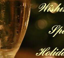 Sparkling Holidays Sticker
