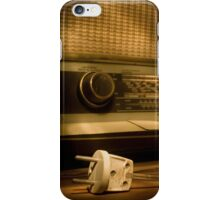 Radio Electricity iPhone Case/Skin