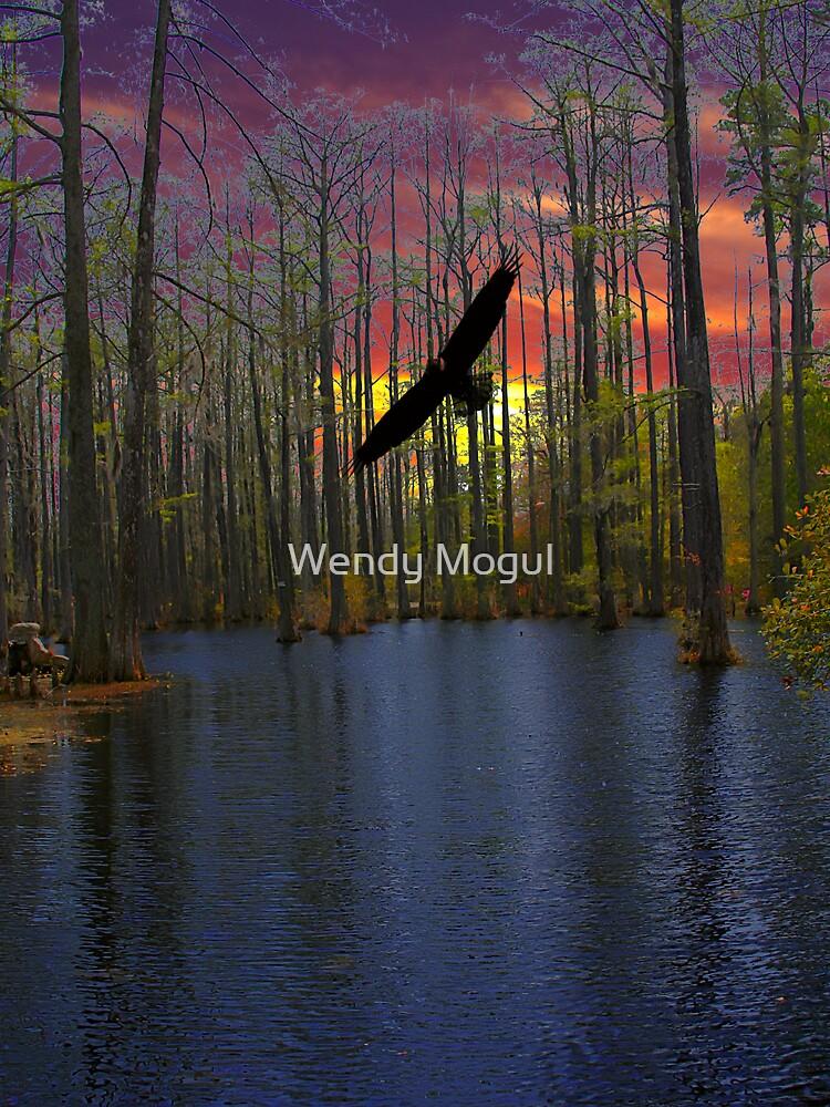 Cypress Sunset by Wendy Mogul