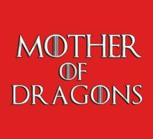 Khaleesi (Daenerys Targaryen) game of thrones - Mother of Dragons by bakery