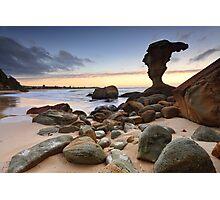 Beach Sunrise Noraville Central Coast NSW Australia seascape landscape Photographic Print